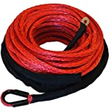 Ranger 6,000 LBs 3/16' x 50' Synthetic Winch Rope 5 MM x 15 M for ATV Winch