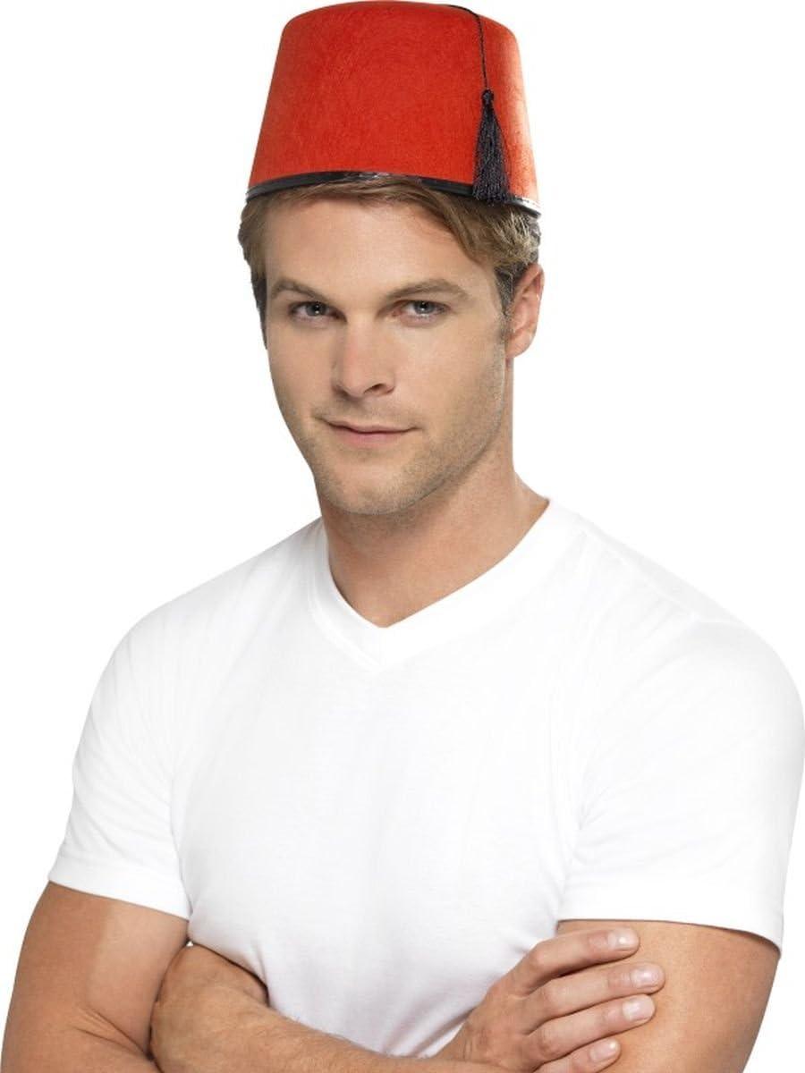 Sombrero de moro rojo: Amazon.es: Juguetes y juegos