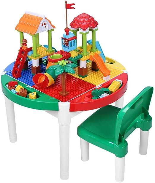 Mesa de Juego Mesa De Juegos para Niños Mesa De Construcción ...