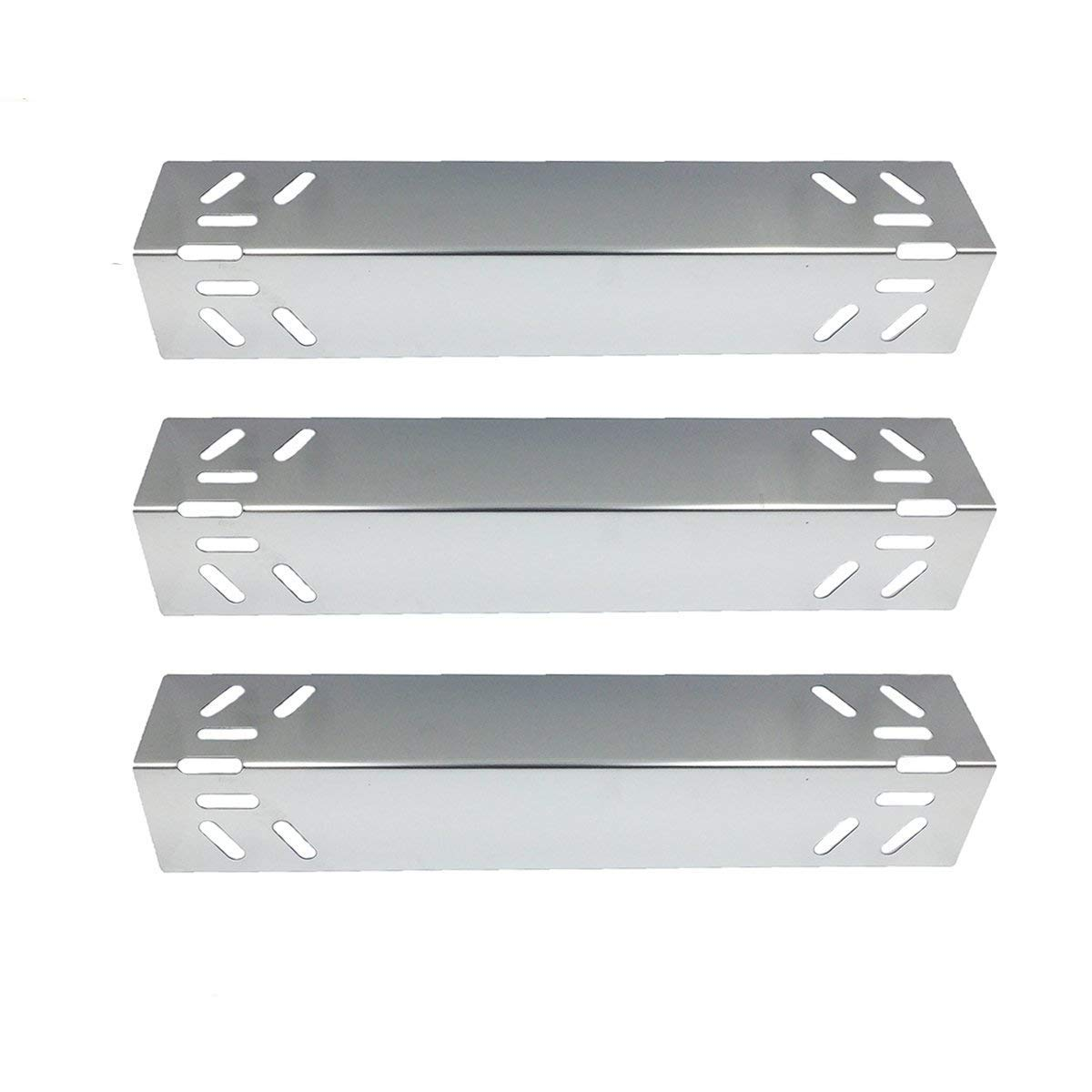 Stainless Steel Heat Plates Tent Burner Covers 8-Pack for Perfect Flame Barbecue