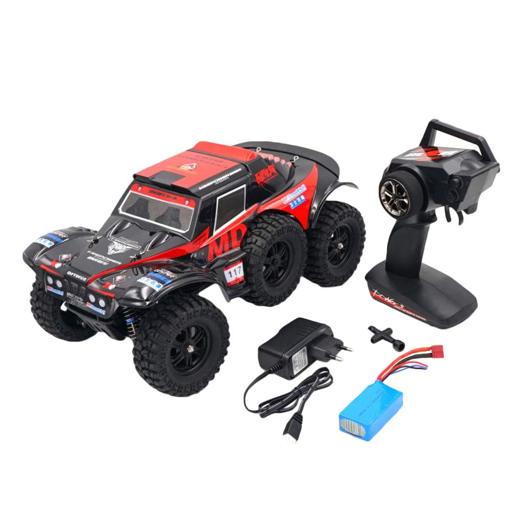 Hot  Wl 540 Brush Motor RC Off-Road Car 1:12 2.4G 4WD 60km/h High Speed Radio Remote Control Car Racing, RC Car Toys for Kids Age 8+ (red) by Hisoul (Image #3)