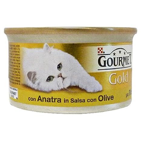 GOURMET GOLD dados con conejo y zanahoria gr 85 Comida mojado de gatos