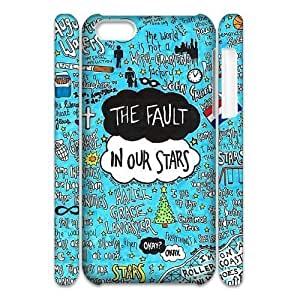 linJUN FENGCool Painting The Fault In Our Stars Brand New 3D Cover Case for iphone 6 4.7 inch,diy case cover case-318901