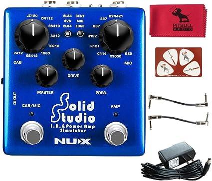 NuX Solid Studio IR & Power Amp Simulador de efectos de guitarra ...