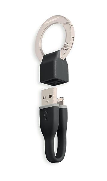 Apple MFI Certificado] Lightning a USB Llavero con Merkury ...
