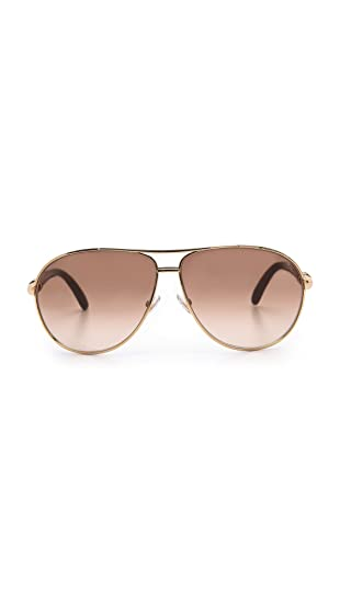 9d08e4a573 Amazon.com  Jimmy Choo Walde S Women s Sunglasses with Rose Gold Lens and Brown  Frame CKBCC  Clothing