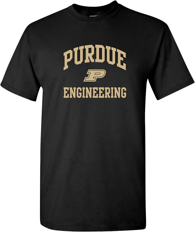 UGP Campus Apparel Playera del Departamento de Calderas de la Universidad Purdue con Logo del Arco, Color del Equipo