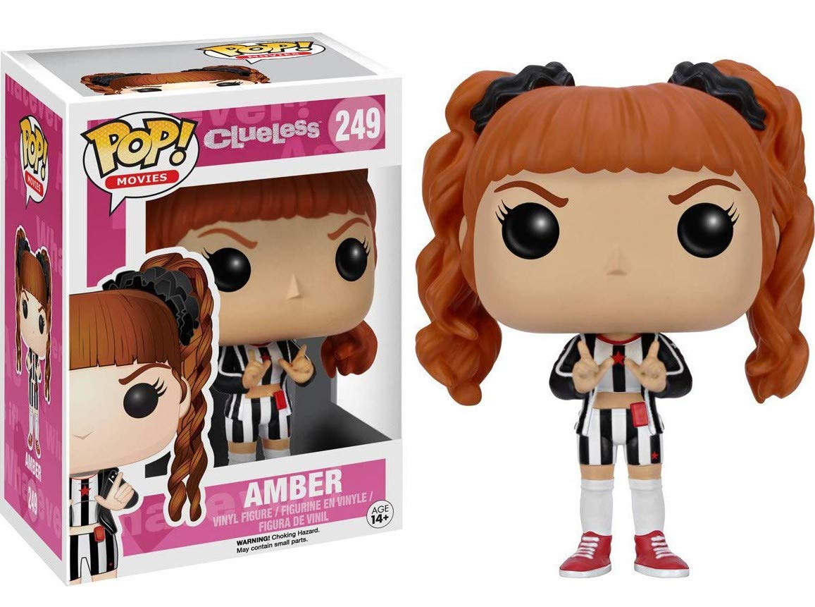 Amber Vinyl Figure Includes Compatible Pop Box Protector Case Movies: Clueless Funko Pop
