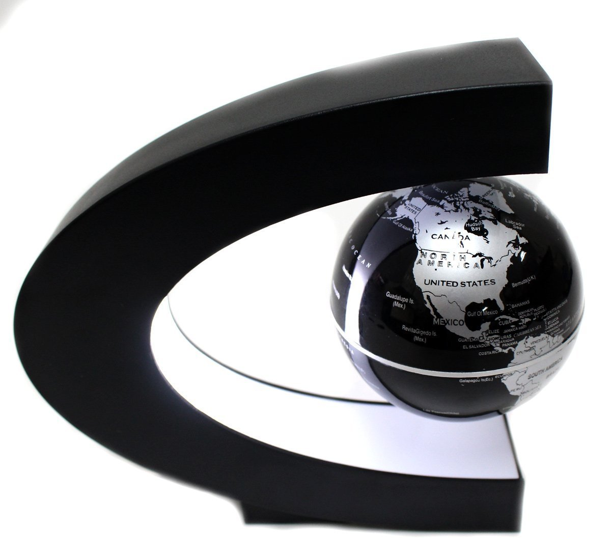 TG00C-AZ TG00C C Shape Magnetic Levitation Floating Globe StealStreet Home