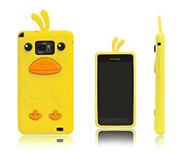 Xcessor Chicken Pollo Funda Carcasa de Silicona Para Samsung ...
