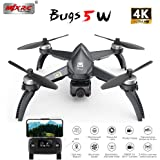 MeterMall Games for MJX Bugs 5 W B5W 5G WiFi FPV with 4K Camera GPS Brushless Altitude Hold RC Drone Quadcopter RTF 1 Battery
