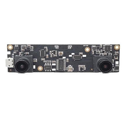 ELP USB Camera 1080P 2Megapixel Dual Lens 3D Stereo VR Camera HD OTG UVC  Plug and Play USB 2 0 Video Webcam Camera Module for