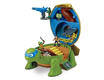 Turtles Micro Mutants Leos Dojo Playset: Amazon.es ...