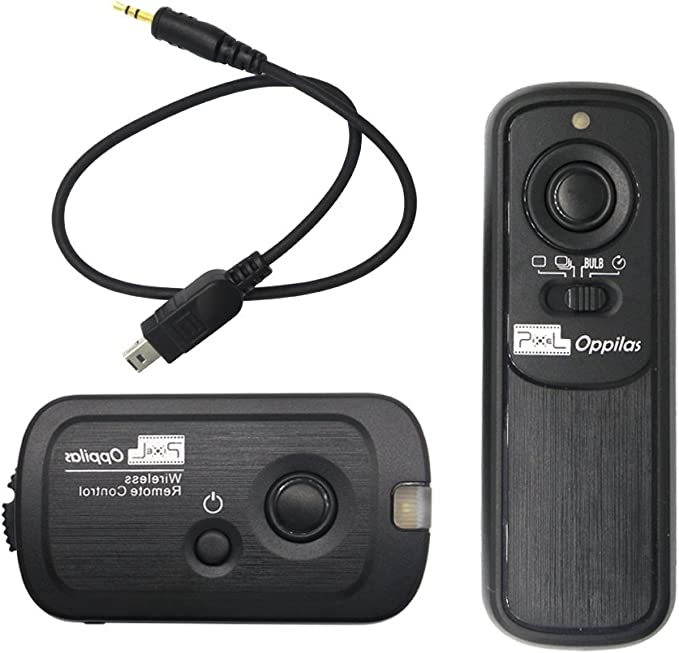 D3200 D3100 Fully Compatible with Nikon MC-DC2 D7000 RF Radio Shutter Release for Nikon D90 Aputure Pro Coworker Wireless Remote D5100 D5000