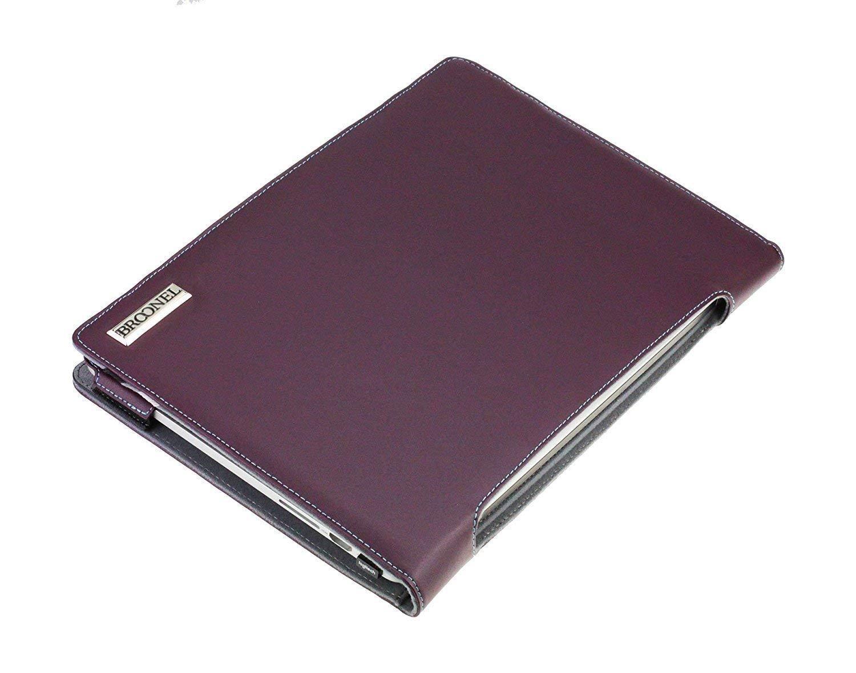 Etui Violet en Cuir de Luxe pour Ordinateur Portable pour ASUS Zenbook Pro 14 Ux480 Profile Series Broonel London