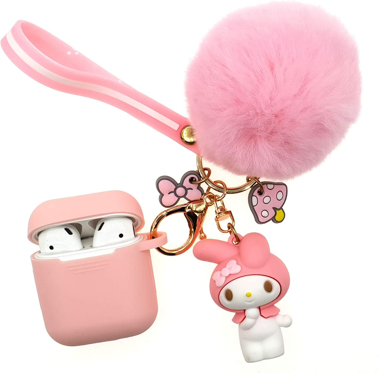 Amazon Com Airpods 2 1 Silicone Case Adorable Replacement For