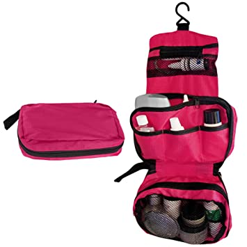 Amazon.com : Evelots Travel Hanging Portable Toiletry Bag Organizer ...