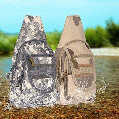 Borsa Sling per triangolo da campeggio Rover tracolla sportiva zaino tracolla Zaino Multicolore Escursionismo Borse a trekking Xuanbao Daypack Pack per a a Borse multiuso tracolla fqgY4