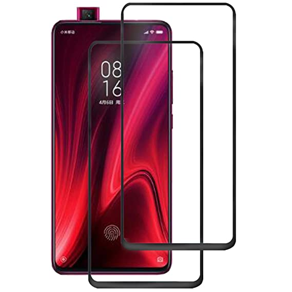 [2 Pack] for Xiaomi Redmi K20/K20 Pro/Mi 9T/9T Pro Screen Protector - MYLB  Full Coverage Screen Protector High Definition Clear, Shockproof, Bubble