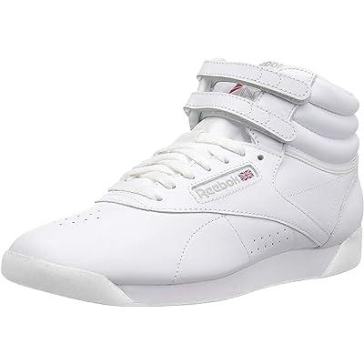 Reebok Women's Freestyle Hi Lace-Up Sneaker   Fashion Sneakers
