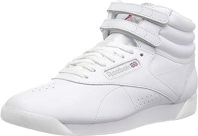 all white high top reeboks