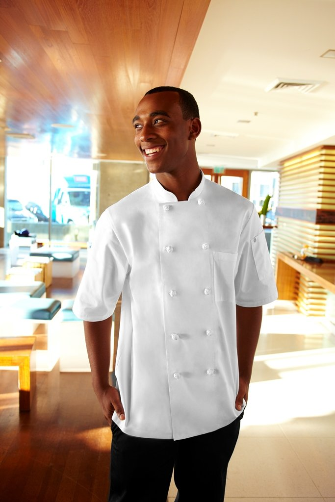 Chef Works Men's Tivoli Chef Coat (KNSS) by Chef Works (Image #2)