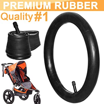 "2 PCS 16/""x1.75//1.95 Stroller Inner Tube with Straight Valve and Cap Thorn Resistant Heavy Duty Rear Wheel Replacement for BOB Revolution SE//Flex//Pro//Sport Utility//Ironman Strollers"