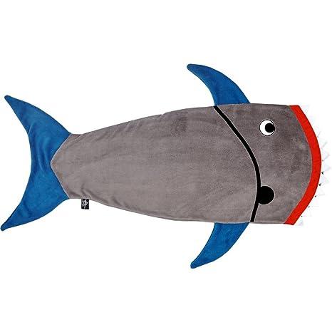 Spiegelburg 14808 Saco De Dormir y De Juego forma de Tiburon de Capitán Captn