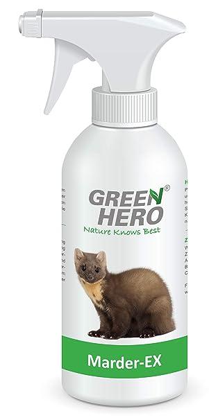 Green Hero Marder Ex Spray Gegen Marderverbiss 500 Ml