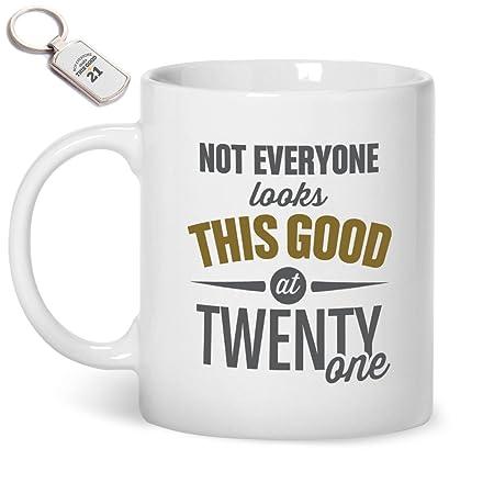 21st Birthday Gift Mug Key Ring Gifts For
