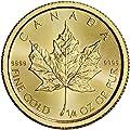 2017 CA Canada Gold Maple Leaf (1/4 oz) $10 Brilliant Uncirculated Royal Canadian Mint