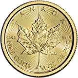 2017 CA Canada Gold Maple Leaf (1/4 oz) $10 Brilliant Uncirculated Royal Canadian Mint