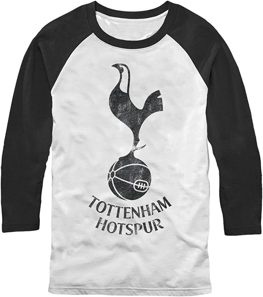 Tottenham Hotspur Football Club Mens Outline Bird Logo T-Shirt