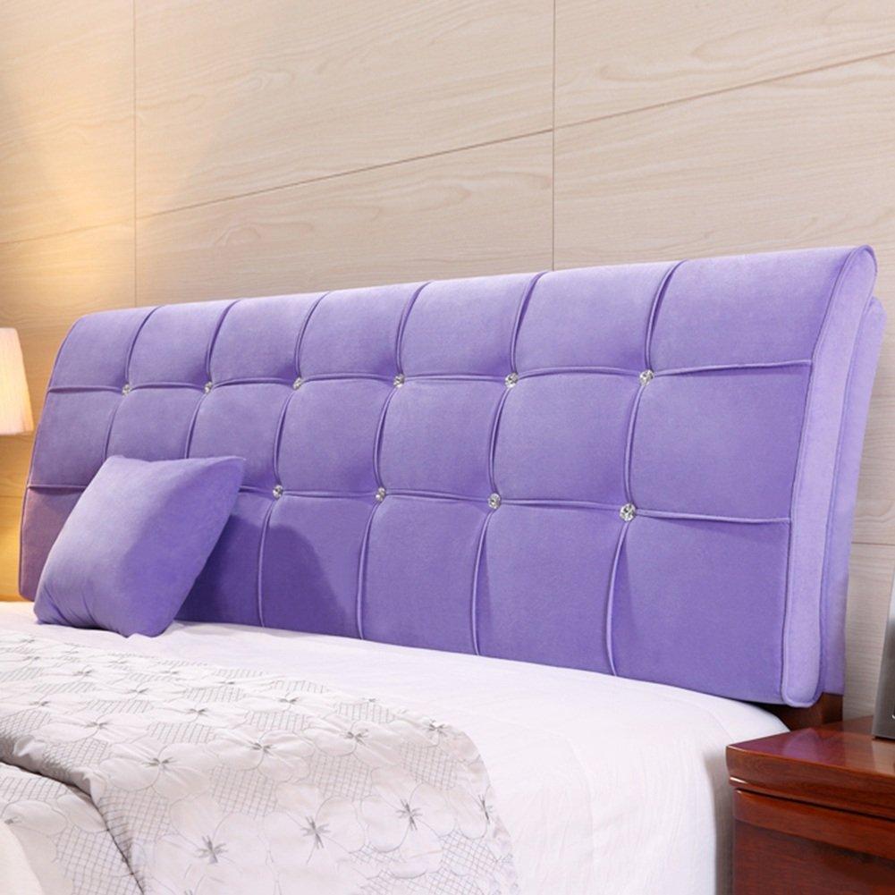 QIANGDA クッション ベッドの背もたれ ヘッドボードマット ビッグバック ベッドサイドソフトバッグ 寝具 ラジアン単位 ダブルベッドルーム ソリッドカラーの5種類、 6サイズ オプション ( 色 : 太郎の色 , サイズ さいず : 190 x 9 x 62cm ) B079Z8J984 190 x 9 x 62cm 太郎の色 太郎の色 190 x 9 x 62cm