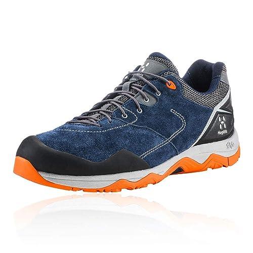 new arrival c948c 8a1ec Haglöfs Men s ROC Claw Low Rise Hiking Boots, (Tarn Blue Cayenne 3t6)