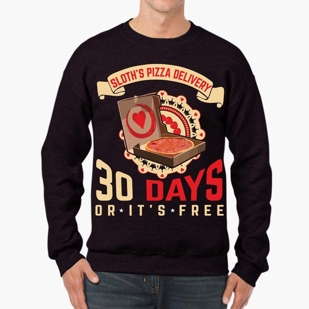 Sloth/_s Pizza Delivery Funny Unisex Sweatshirt tee