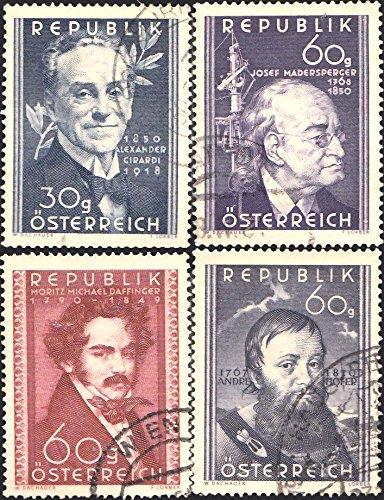 austria-scott-568-571-30g-girardi-actor-60g-daffinger-painter-60g-hofer-patriot-and-60g-madersperger