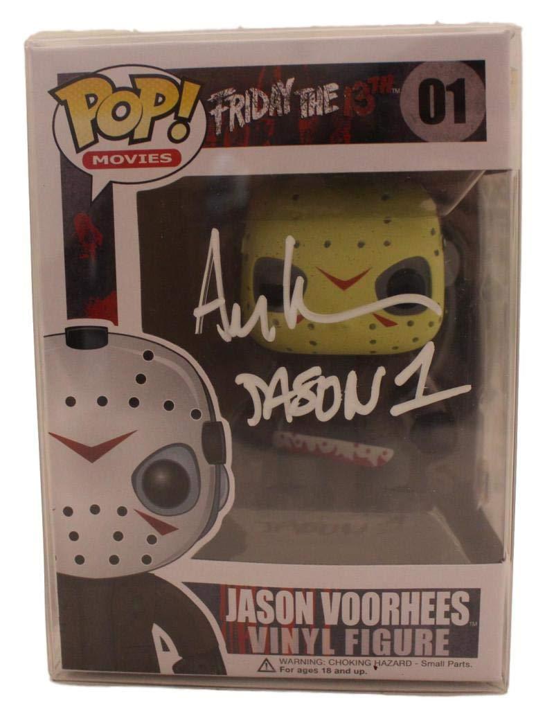 Ari Lehman Autographed/Signed Friday The 13th Jason Funko Pop 01 BAS