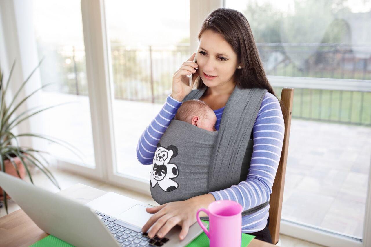 langlebig/ /geeignet f/ür Babys bis 35/lbs. /Eine Gr/ö/ße passend f/ür all Baby Tragetuch Baby Wrap Carrier perfekte Baby Dusche Geschenk anthrazit grau/ 100/% Bio Stretch Spandex Material Baby Sling