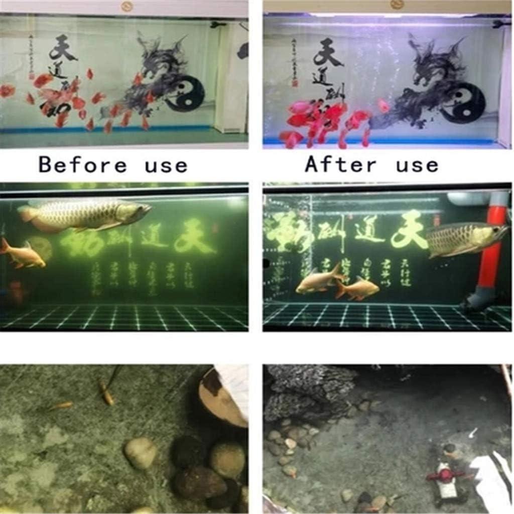 Multifunktionswasserreiniger Teiche Eco-Aquarium Wasserfilter Cube Aquarium New Filtration Material Schnelle Wasseraufbereitung Aquarium Filter f/ür Aquarium Schwarz