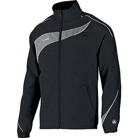 Jako Fußball Polyester Jacke Competition 2.0 Herren Trainingsjacke rot schwarz Fußball
