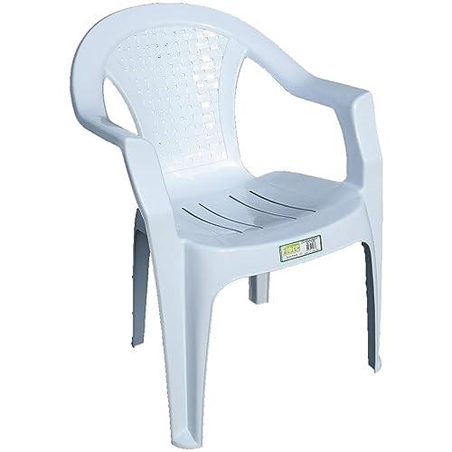 White Garden Chairs Amazon Co Uk