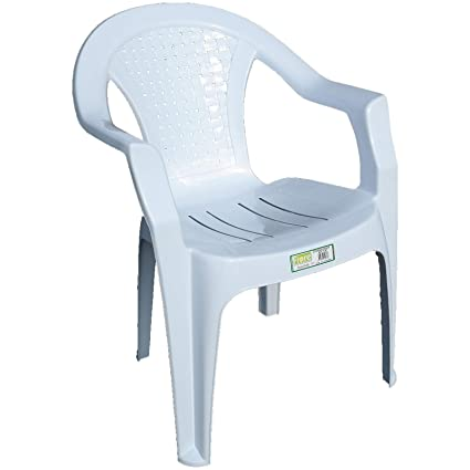 Super Indoor Outdoor White Plastic Lawn Chairs Garden Patio Armchair Stacking Stackable 1 Camellatalisay Diy Chair Ideas Camellatalisaycom