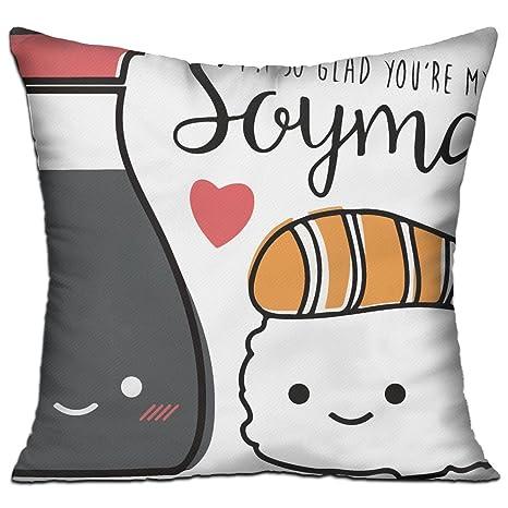 Amazon.com: wqbzl I m So Glad You Re My soymate moda ...