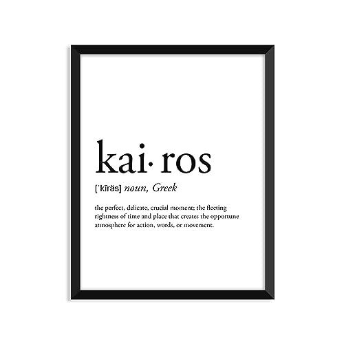 Amazon kairos definition unframed art print poster or kairos definition unframed art print poster or greeting card with kraft envelope m4hsunfo