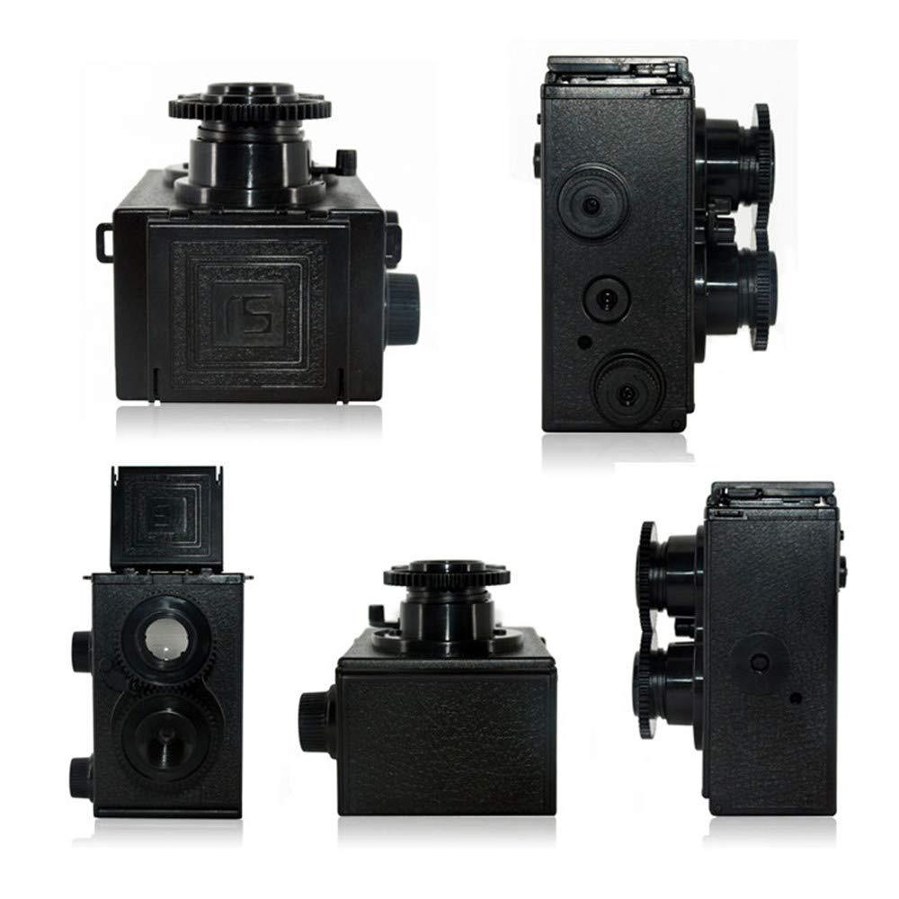 Pixco DIY TLR - Cámara réflex de Doble Lente (35 mm, Gakken Lomo ...
