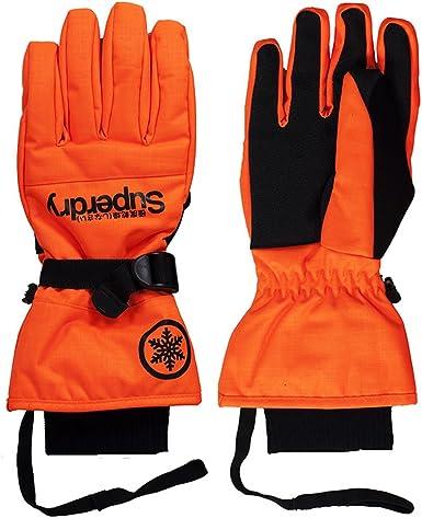 Gants De Ski Superdry Ultimate Snow Service Orange: Amazon