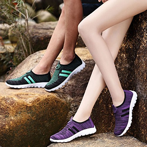 Wander GESIMEI Mesh Laufschuhe Turnschuhe Damen Atmungsaktiv Schwarz Trekking Herren Freizeitschuhe Fitness Leicht Sportschuhe nfqwB8gxRq