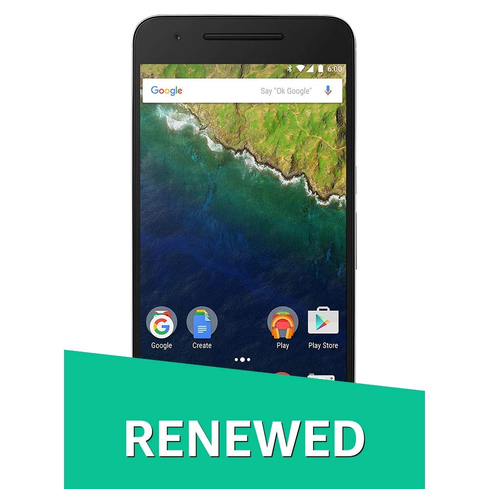(Renewed) Huawei Nexus 6P (Matte Gold, 64GB)