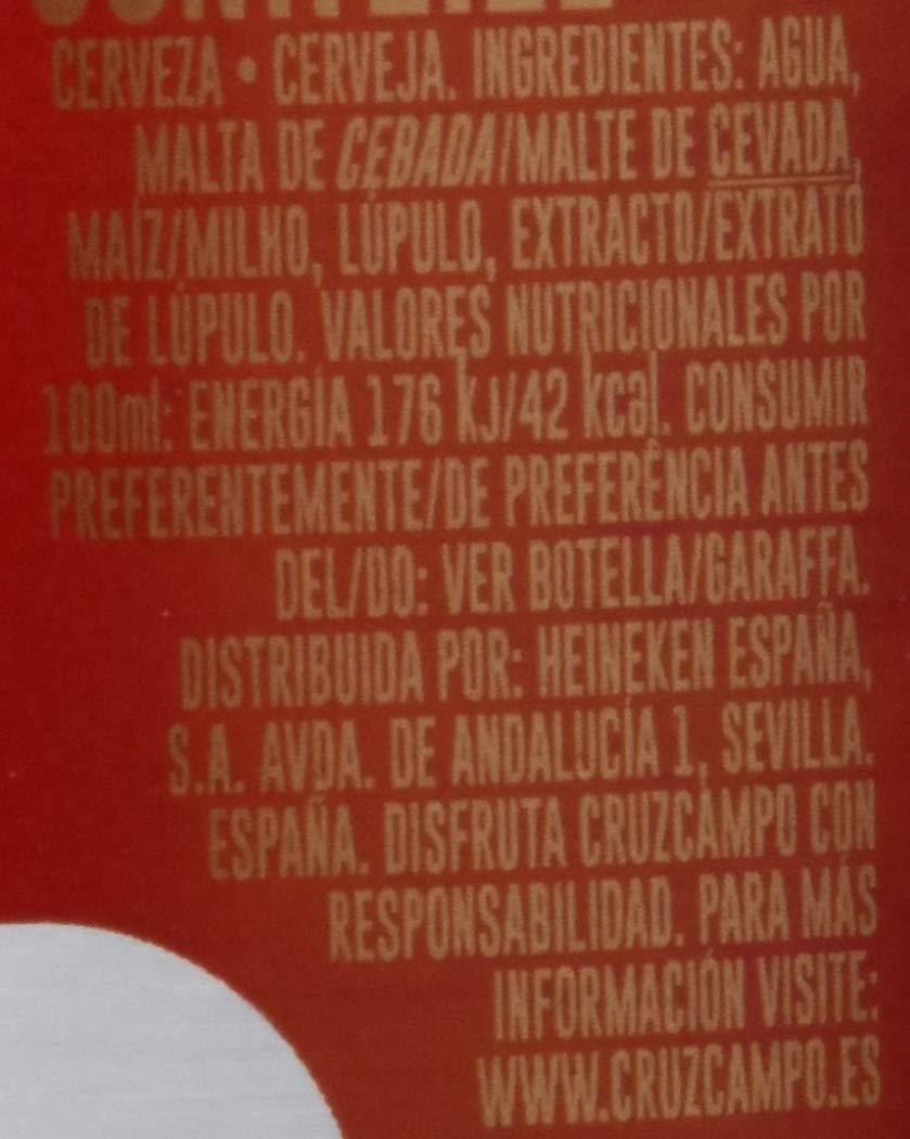 Cruzcampo Cerveza - Caja de 6 x Botellas 1.1 L- Total: 6.6 L: Amazon.es: Amazon Pantry